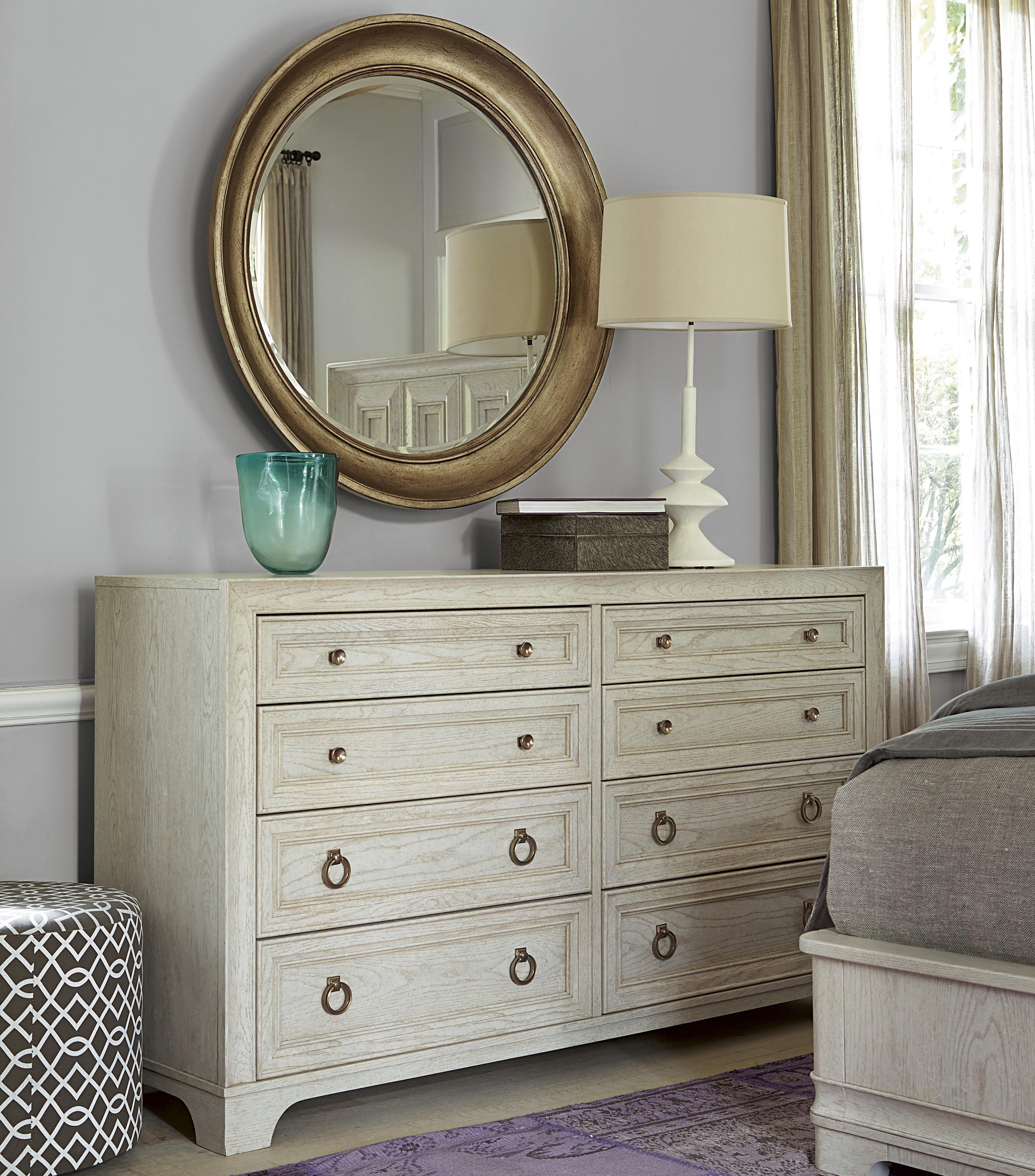 Universal California - Malibu Dresser and Mirror Set - Item Number: 476040+47509M