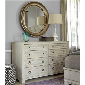 Morris Home Furnishings California - Malibu Dresser and Mirror Set