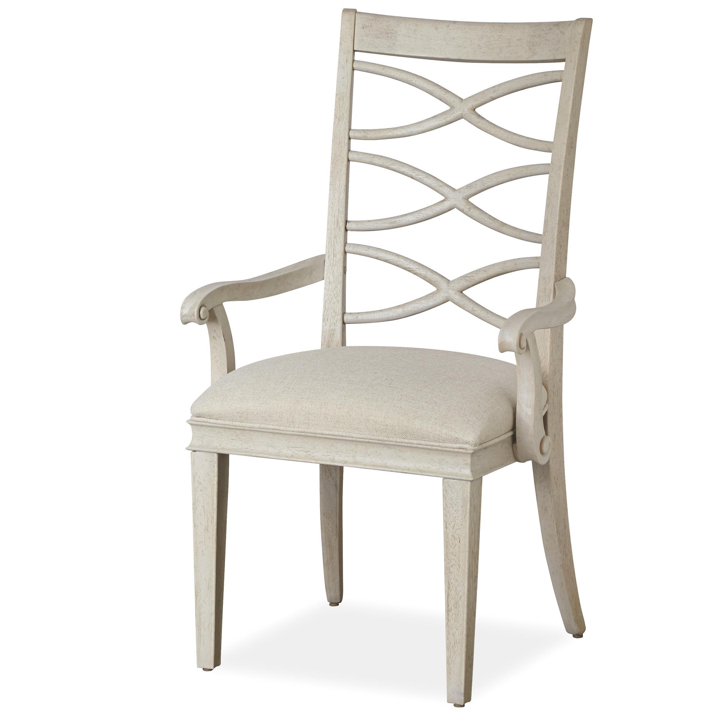 Universal California - Malibu X-Back Arm Chair - Item Number: 476635