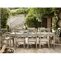 Universal California - Malibu 9 Piece Dining Set - Item Number: 476653+2x635-RTA+6x634-RTA