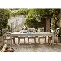 Universal California - Malibu Dining Table with Tapered Legs