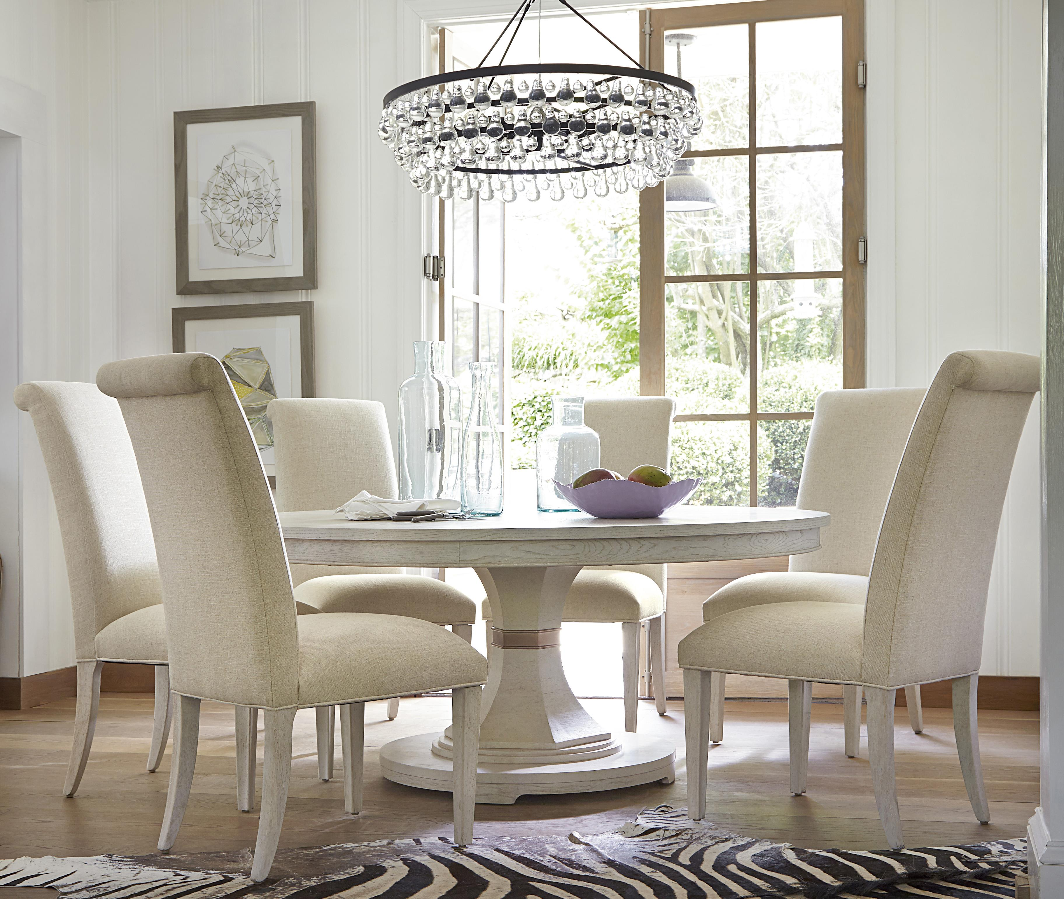 Universal California - Malibu 7 Piece Dining Set - Item Number: 476657+638-RTA