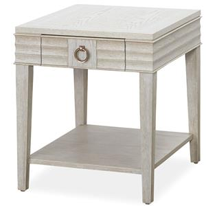 Universal California - Malibu Drawer End Table