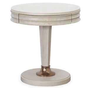 Universal California - Malibu Round End Table