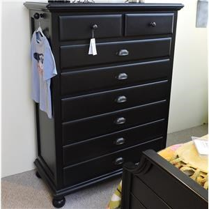Universal Clearance 5 Drawer Chest