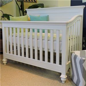 Universal Clearance White Crib