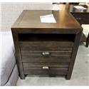Universal     Drawer End Table - Item Number: 755582014