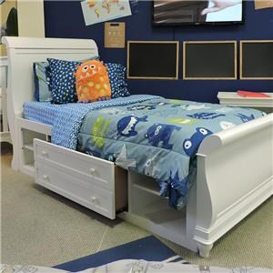 Universal Clearance Twin Sleighbed