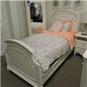 Universal Clearance Twin Panel Bed - Item Number: PKG136A03
