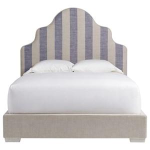 Universal Coastal Living Home - Escape Queen Sagamore Hill Panel Bed