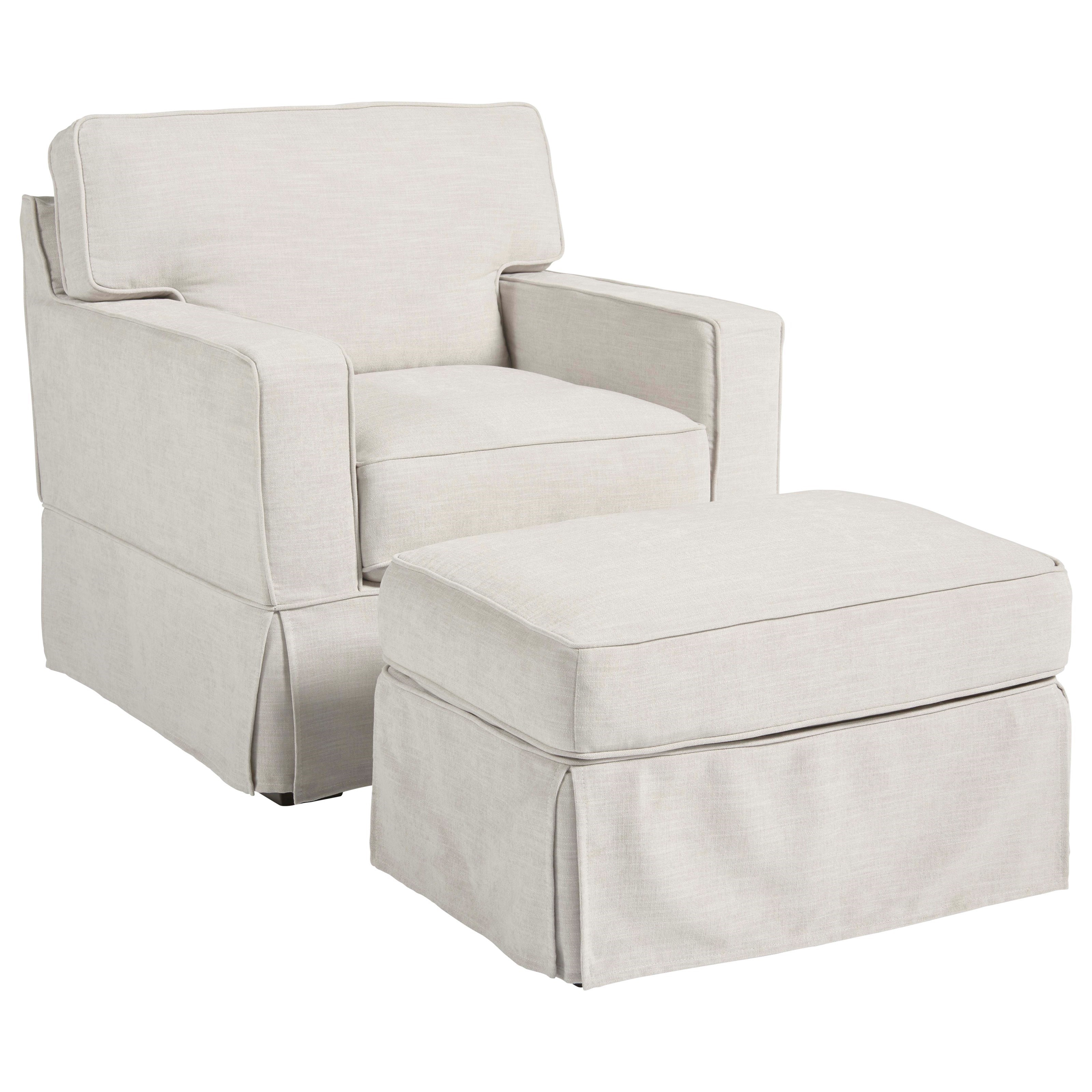 Chatham Chair and Ottoman
