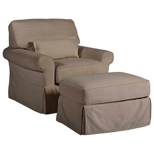 Ventura Chair and Ottoman