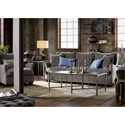 Morris Home Furnishings Connor Traditional Sofa with Nail Head Trim
