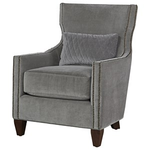 Morris Home Furnishings Connor Accent Chair