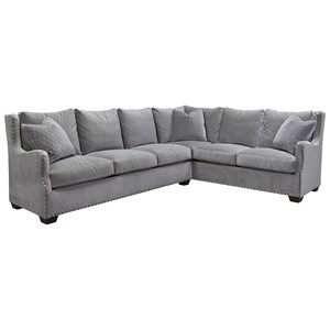 Morris Home Furnishings Connor Sectional Sofa
