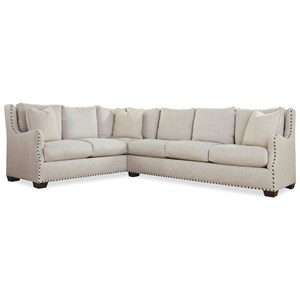 Great Rooms Connor Sectional Sofa
