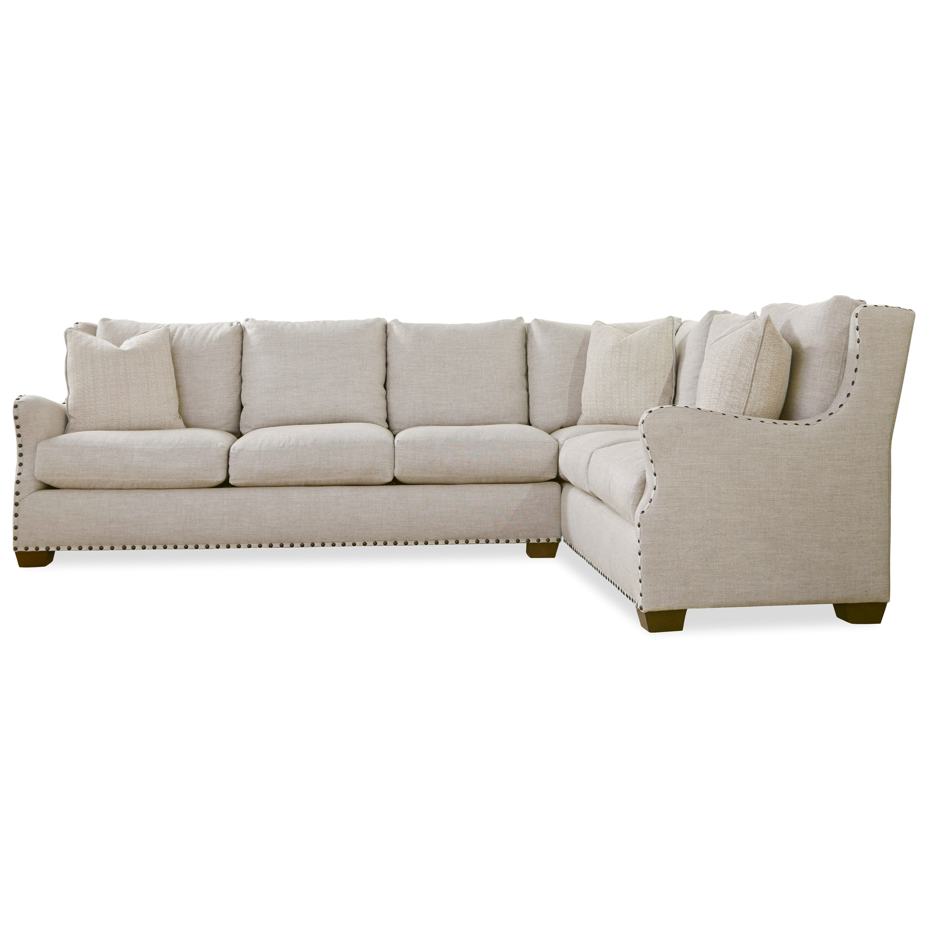 Universal Connor 407511lsrc 100 Traditional Sectional Sofa