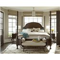 Universal Cordevalle Queen Santa Rosa Poster Bed - Bed Shown May Not Represent Size Indicated
