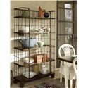 Universal Cordevalle Bakery Rack with 5 Shelves and Casters