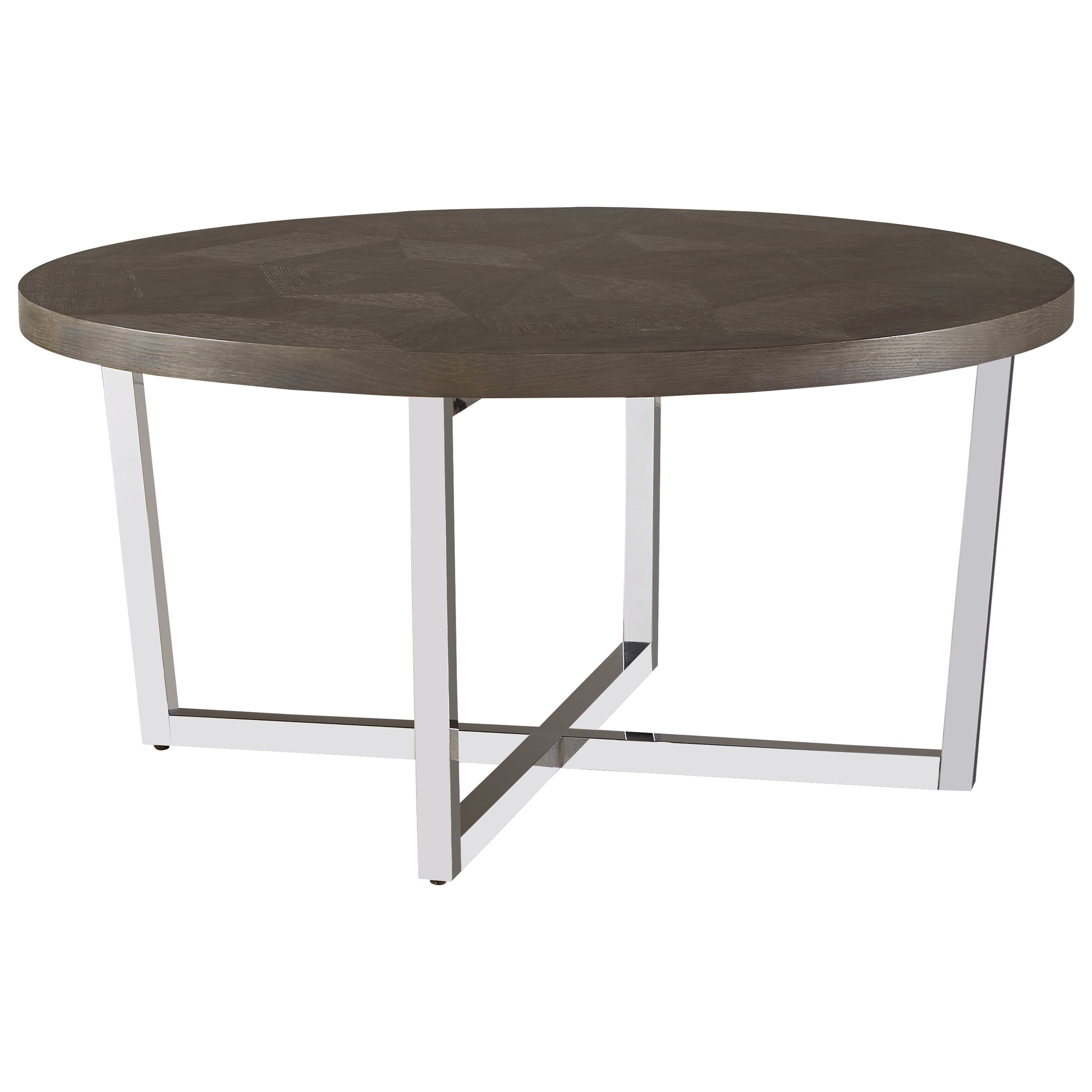 Universal Curated Dorchester Round Cocktail Table - Item Number: 553818