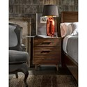Universal Curated Newbury Nightstand with Outlet