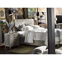 Morris Home Furnishings Curated Biscayne Queen Bed with 2 Footboard Drawers