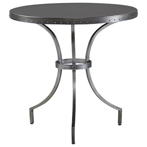 Universal Curated Eliston Round End Table
