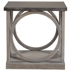 Morris Home Furnishings Curated Carlton End Table