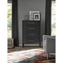 Universal Curated Langley Tall Four Drawer Dresser