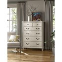 Universal Curated Latham Six Drawer Tall Dresser