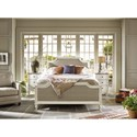 Universal Curated Latham Queen Bed with Upholstered Headboard and Footboard