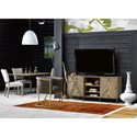 Universal Curated Truman Entertainment Console with Adjustable Base