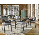 Universal Curated Belmont Performance Fabric Upholstered Dining Chair