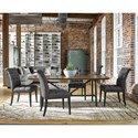 Universal Curated Aldrich Side Chair with Button Tufting