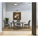 Universal Curated Digby Reclaimed Solid Poplar 84 Inch Leg Table