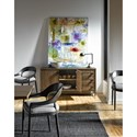 Universal Curated Lennox Dining Credenza with Metal Base