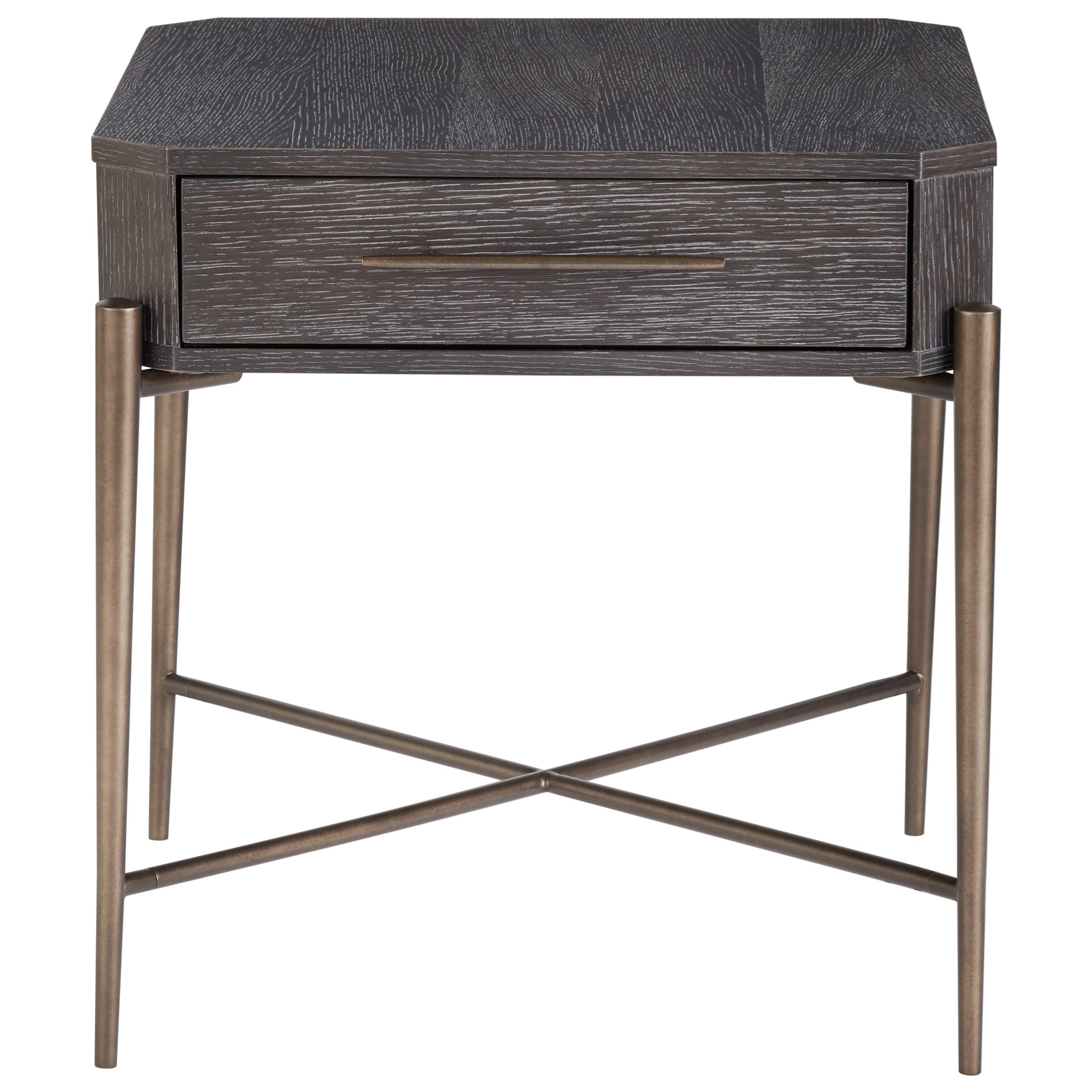 Curated Oslo End Table by Universal at Baer's Furniture
