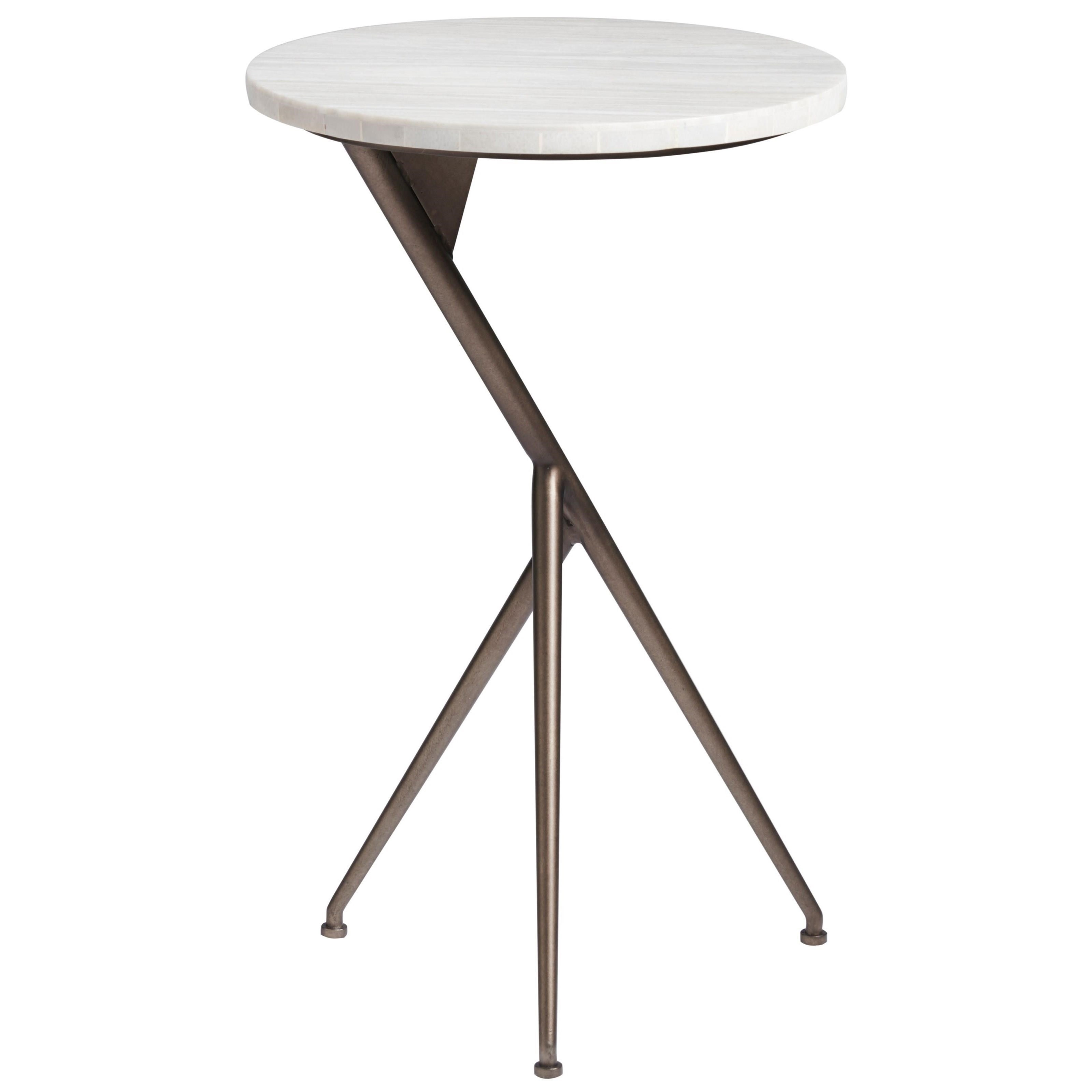 Curated Oslo Round End Table by Universal at Baer's Furniture