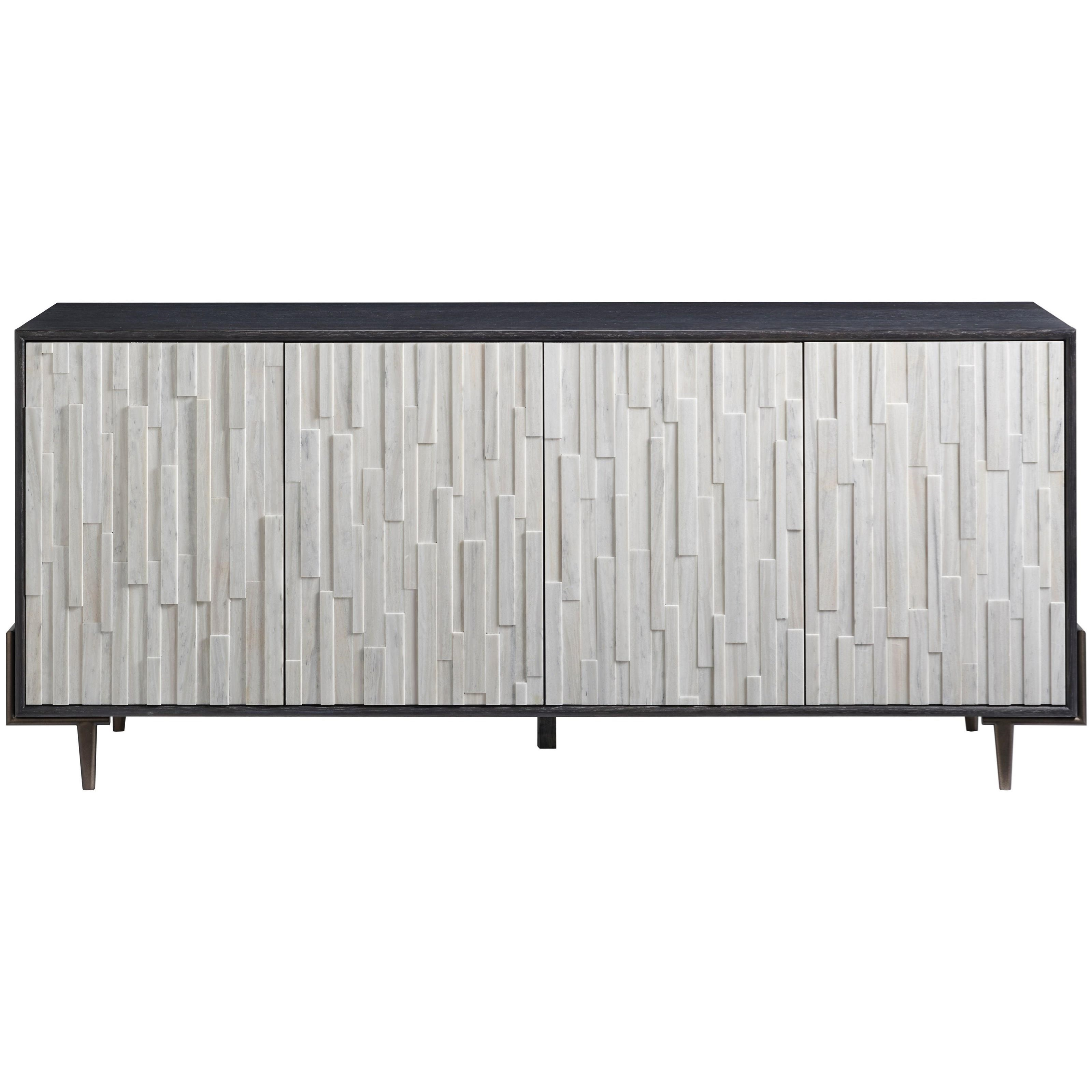 Curated Olso Entertainment Console  by Universal at Baer's Furniture