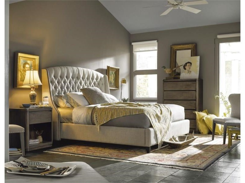 Curated King Bedroom Group by O'Connor Designs at Sprintz Furniture