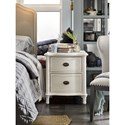 Universal Curated Amity Nightstand with 2 Drawers