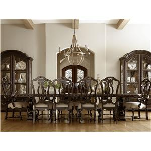Great Rooms Castella 11 Piece Dining Set