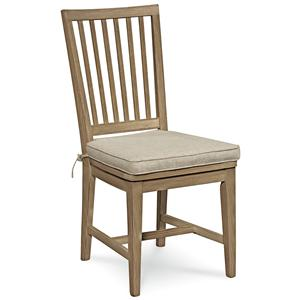 Morris Home Furnishings Great Rooms Vertical Slat Side Chair