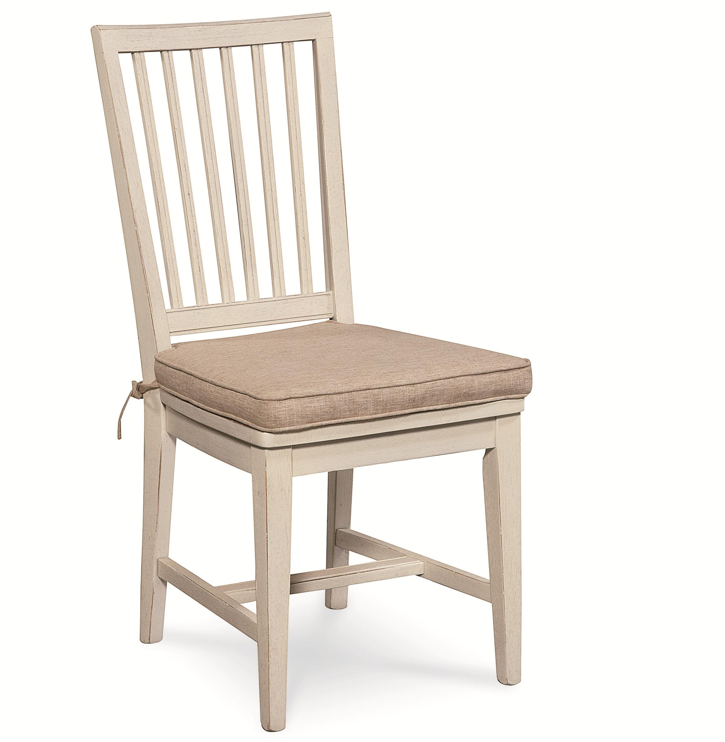 Universal Curated Vertical Slat Side Chair - Item Number: 128732W-RTA