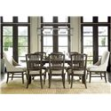 Universal Great Rooms - Berkeley 3 Chelsea Kitchen Table with Trestle Base