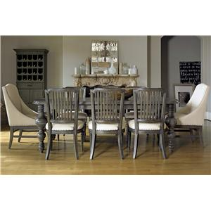 Great Rooms Great Rooms - Berkeley 9 Piece Dining Set