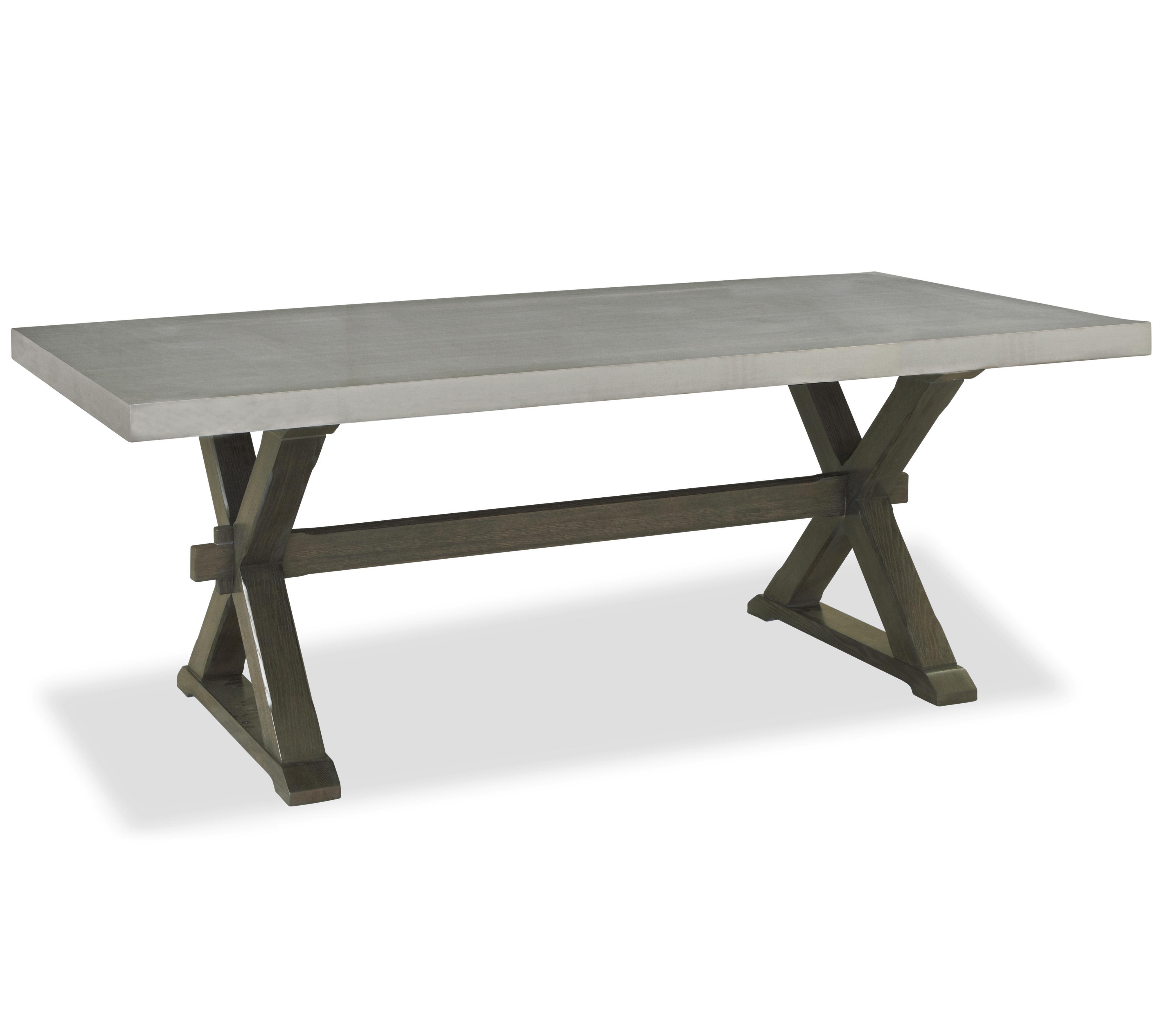 Universal Great Rooms - Berkeley 3 Flatiron Table - Item Number: 311755