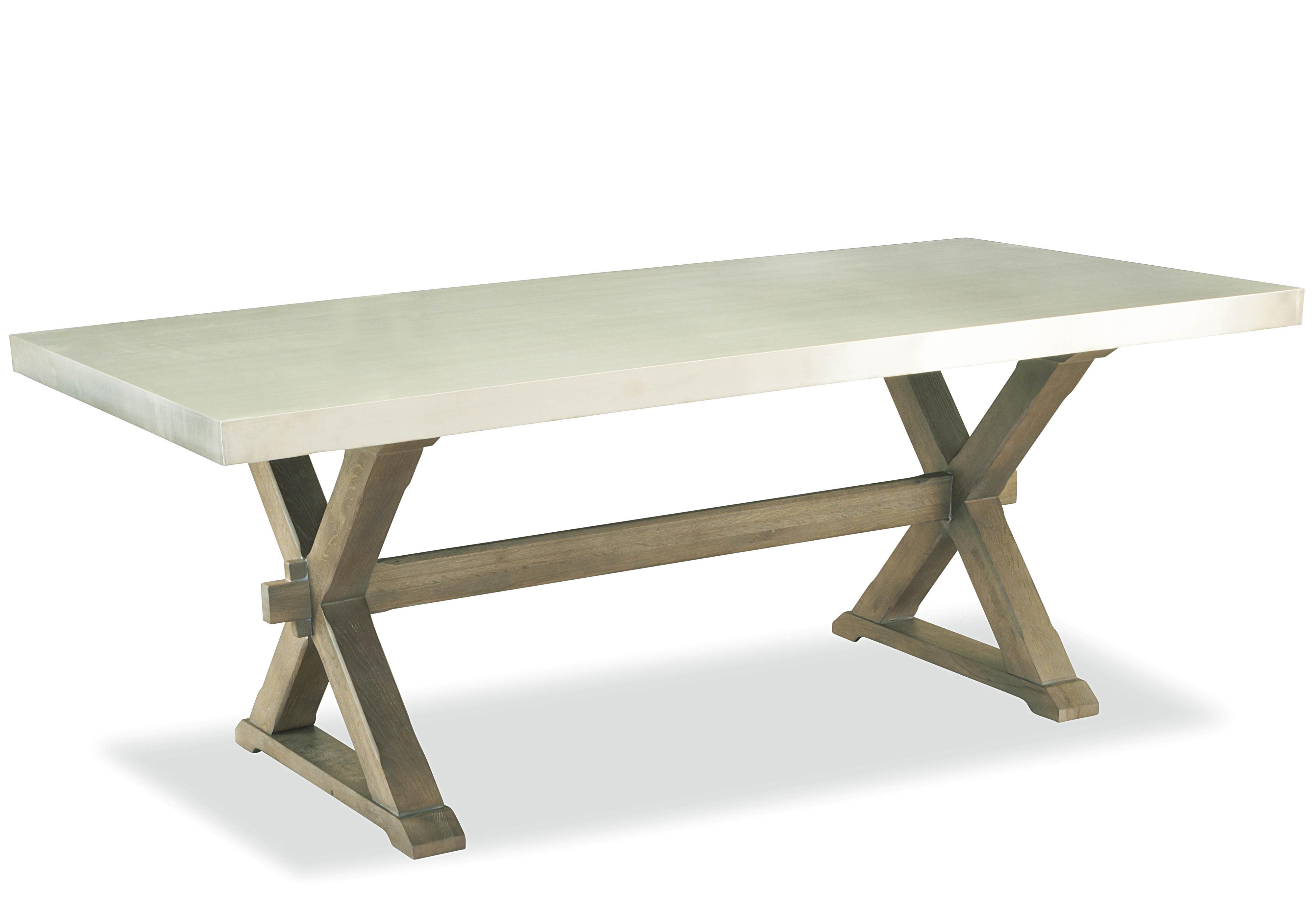 Universal Curated Flatiron Table with Trestle Base Reeds  : products2Funiversal2Fcolor2Fgreat20rooms316755 b0 from www.reedsfurniture.com size 4000 x 2792 jpeg 360kB