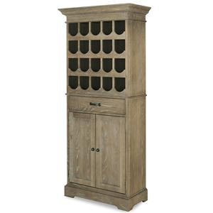 Universal Great Rooms - Berkeley 3 Tall Wine Cabinet