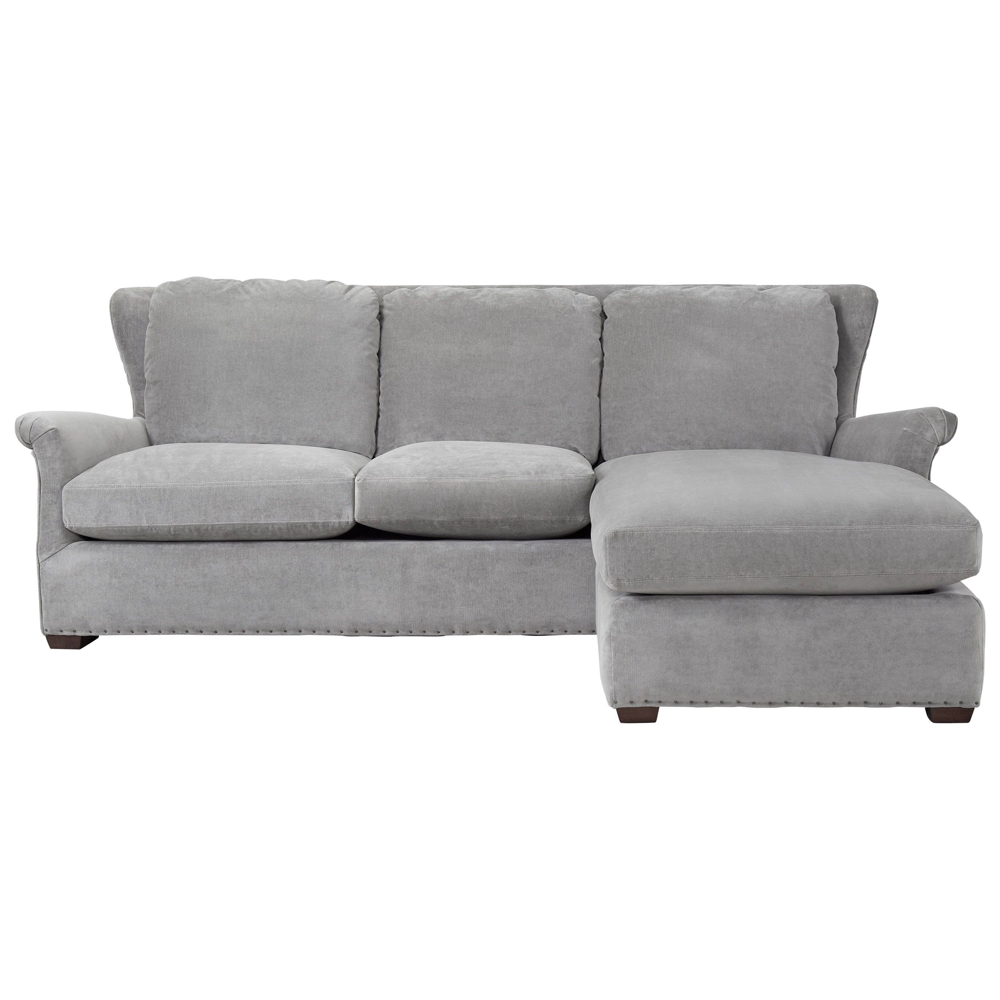 Haven Sofa Chaise with Ottoman     by Universal at Story & Lee Furniture